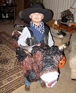 Bull Rider Homemade Costume