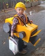 Bulldozer Homemade Costume