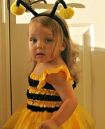 Homemade Bumble Bee Costume