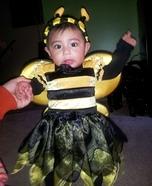Bumble Bee Homemade Costume