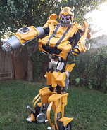 DIY Bumble Bee Transformer Costume