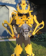 Transformers Bumblebee Costume