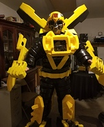 Bumblebee Homemade Costume