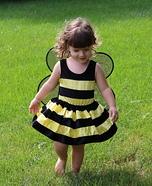 Bumblebee Baby Girl's Costume