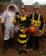 Bumblebee Family Homemade Costume