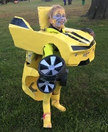Bumblebee Girl Homemade Costume