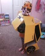 Boy's Bumblebee Transformer Costume