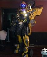 DIY Bumblebee Transformer Adult Costume