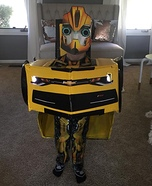 Bumblebee Transformer Homemade Costume