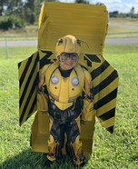 Bumblebee Transformers Homemade Costume