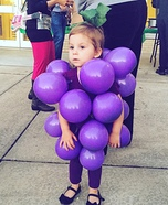 Bunch of Grapes Homemade Costume