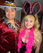 Bunny and the Pimp Homemade Costume