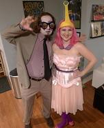 Princess Bubblegum Homemade Costume