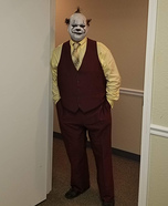 Business Clown Homemade Costume