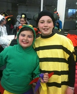 Busy Bee and Court Jester Costumes