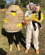 Busy Bee Family Homemade Costume