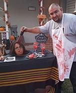 Butcher's Special: Head on a Platter Homemade Costume