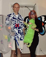 The Butterfly Catcher, Butterfly and Caterpillar Family Costume