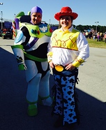 Buzz and Jessie Homemade Costume