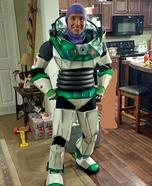 Homemade Buzz Lightyear Costume for Men