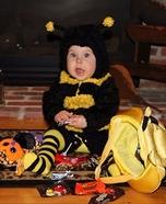 Buzzing Bumble Bee Homemade Costume