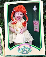 Costume ideas for baby's first Halloween - Cabbage Patch Doll Costume