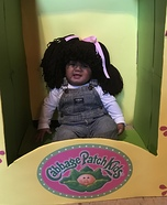 Cabbage Patch Homemade Costume