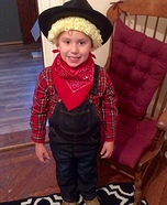 Cabbage Patch Cowboy Homemade Costume