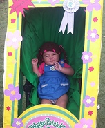 Cabbage Patch Cutie Homemade Costume