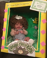 Cabbage Patch Doll Costume DIY