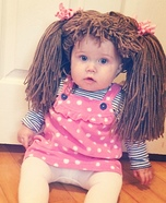 Cute baby costume ideas: Cabbage Patch Doll Homemade Costume