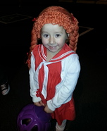 Cabbage Patch Doll Costume for a Girl