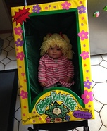 Cabbage Patch Doll in Box Homemade Costume