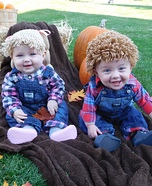 Cabbage Patch Dolls Homemade Costume