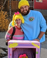 Cabbage Patch Family Homemade Costume