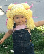 Cabbage Patch Girl Homemade Costume