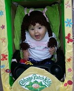 DIY Cabbage Patch Kid Baby Costume