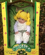 Cutest Cabbage Patch Kid Homemade Costume