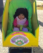 Cabbage Patch Kid Homemade Costume