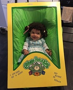 Cabbage Patch Kid Baby Homemade Costume