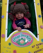 Cabbage Patch Kid Cutie Homemade Costume