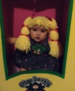 Cabbage Patch Kids Homemade Costume