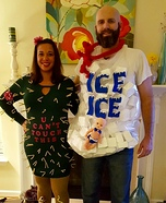 Cactus and Ice Homemade Costume