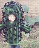 Cactus Cutie Homemade Costume