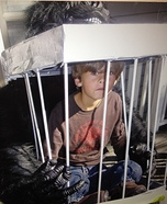 Caged Boy Illusion Costume