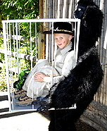 Hunter Captured by Gorilla Costume