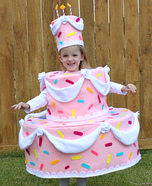 Halloween costume ideas for girls: Cake Homemade Costume