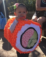 California Roll Baby Homemade Costume