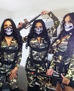 Call of Duty Girls Homemade Costume