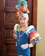 Calypso Dancer Homemade Costume